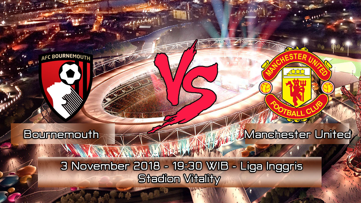 Prediksi Skor Pertandingan Bournemouth vs Manchester United 3 November